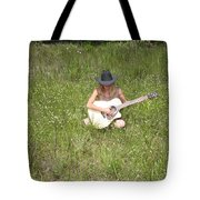 Lonely Guitar Two Tote Bag