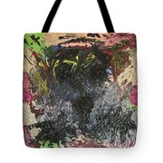 Lonely Man Sitting On Top Of The World. Tote Bag