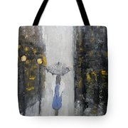 Lonely On A Street Tote Bag