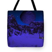 Lonely Outpost Tote Bag