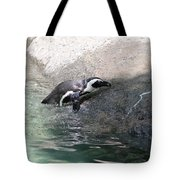 lonely Penquin Tote Bag