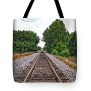 Lonely Track Tote Bag