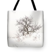 Lonely Tree On A Hill Tote Bag