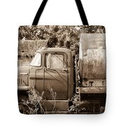 Lonely Truck Tote Bag