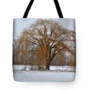 Lonely Winter Tote Bag