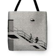 Lonely Zebra Tote Bag