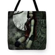 Lonesome Night Tote Bag by Jutta Maria Pusl