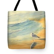 Long Beach Bird Tote Bag