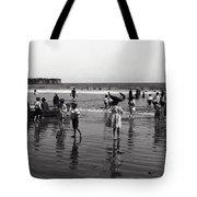 Long Beach California Bathers C. 1910 Tote Bag