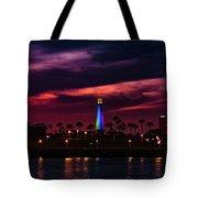 Long Beach Lighthouse II Tote Bag