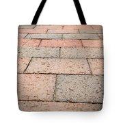 Long Bricked Walks Tote Bag