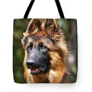 Long Coated German Shepherd Dog Tote Bag