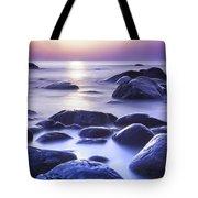 Long Exposure Sea And Rocks In Estonia Baltic Sea Tote Bag