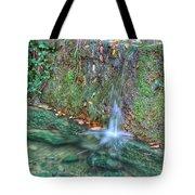 Long Exposure Waterfall Tote Bag