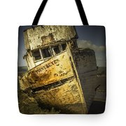 Long Forgotten Boat Tote Bag