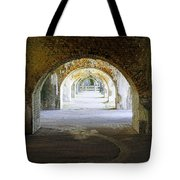 Long Hall At Fort Pickens Tote Bag
