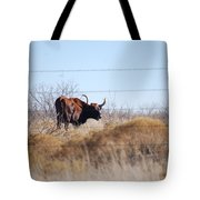 Long Horn Tote Bag