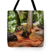 Long Journey Of A Tortoise Tote Bag