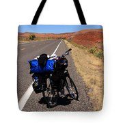 Long Road Ahead Tote Bag