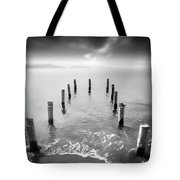 Long Silence Tote Bag