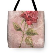 Long Stemmed Rose Tote Bag