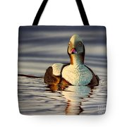 Long Tail Duck Tote Bag