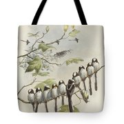 Long-tailed Tit  Tote Bag