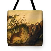 Long - Tailed Weasel Tote Bag