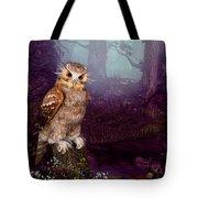 Long Whisker Owl Tote Bag