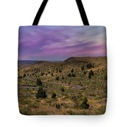 Long Winding Road In Central Oregon Tote Bag