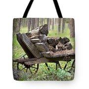 Long Winter Coming - Vintage Wheelbarrow - Casper Wyoming Tote Bag