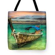Longboat Sunset Tote Bag