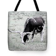 Longhorn Sketch Tote Bag