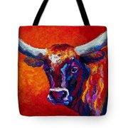 Longhorn Steer Tote Bag