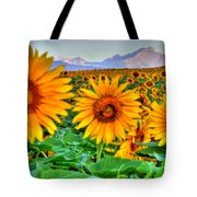 Longs Sunflowers Tote Bag