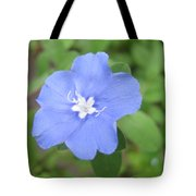 Lonly Blue Flower Tote Bag