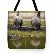 Look At The Best Parts Tote Bag