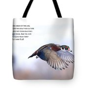 Look At The Birds Tote Bag