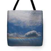 Look At The Sky Tote Bag