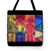 Look Down Tote Bag