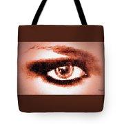Look Into My Eye Tote Bag