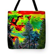 Look Into The Future 2 Tote Bag