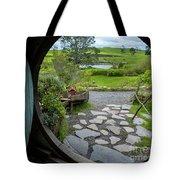 My World, Hobbiton Tote Bag