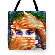 Look Out Of The Box Tote Bag