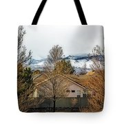 Look To The Hills Tote Bag
