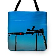 Look Up To The Sky For Rescue Tote Bag