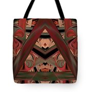 Look Within - Abstract Tote Bag