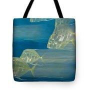 Lookdown Fish Selene Sp. In Motion Tote Bag