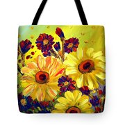 Looking At Sun  Tote Bag