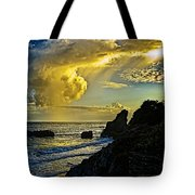Looking At The Sky Tote Bag
